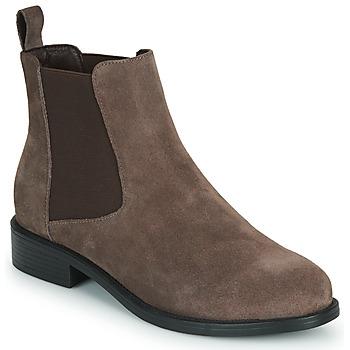 鞋子 女士 短筒靴 Spot on  棕色
