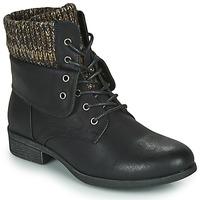 鞋子 女士 短筒靴 Spot on F50613 黑色