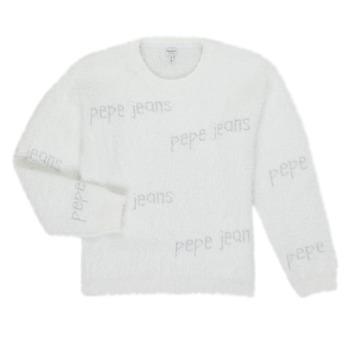 衣服 女孩 羊毛衫 Pepe jeans AUDREY 白色