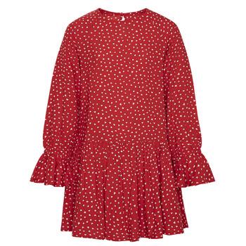 衣服 女孩 短裙 Pepe jeans CATY 红色