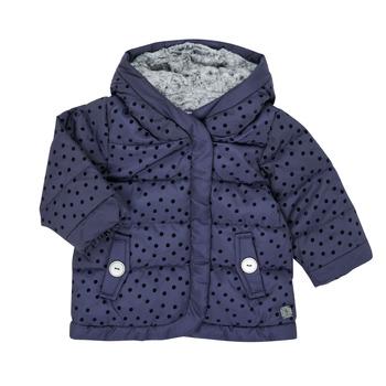 衣服 女孩 羽绒服 伊莎堡 9R42022-04-B 海蓝色