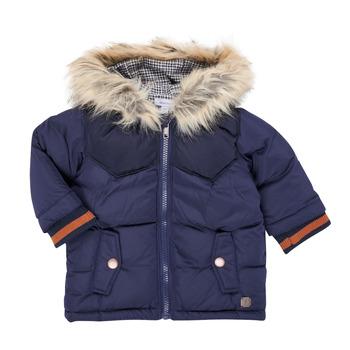 衣服 男孩 棉衣 伊莎堡 9R42062-04-B 海蓝色