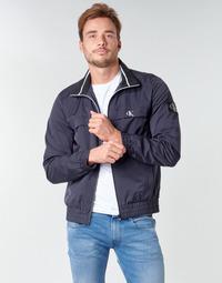 衣服 男士 夹克 Calvin Klein Jeans ZIP UP HARRINGTON 海蓝色