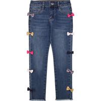 衣服 女孩 紧身牛仔裤 Billieblush / Billybandit U14406 蓝色