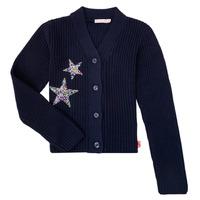 衣服 女孩 羊毛开衫 Billieblush / Billybandit U15758 蓝色