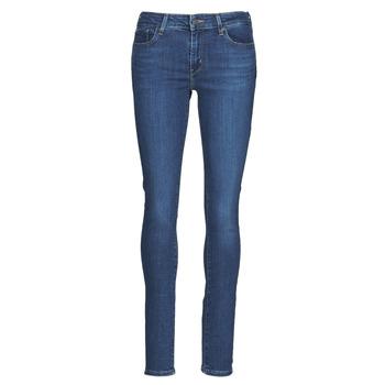 衣服 女士 牛仔铅笔裤 Levi's 李维斯 711 SKINNY 蓝色