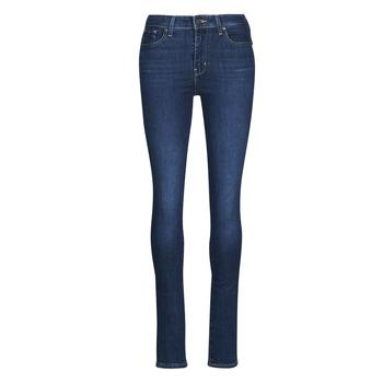 衣服 女士 牛仔铅笔裤 Levi's 李维斯 721 HIGH RISE SKINNY 蓝色