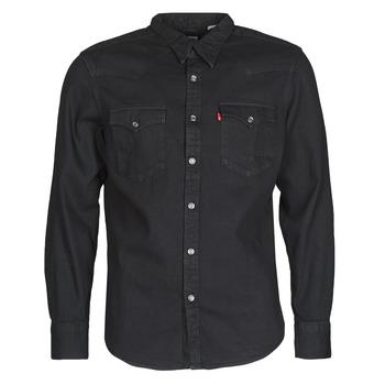 衣服 男士 长袖衬衫 Levi's 李维斯 BARSTOW WESTERN STANDARD 黑色