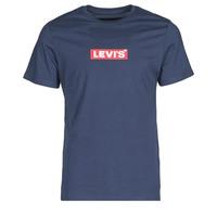 衣服 男士 短袖体恤 Levi's 李维斯 BOXTAB GRAPHIC TEE 蓝色