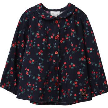 衣服 女孩 女士上衣/罩衫 Carrément Beau Y95234 蓝色