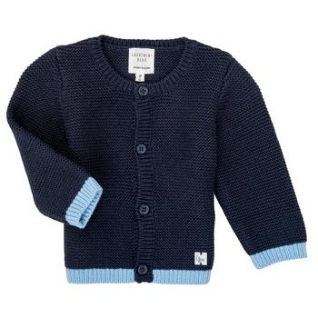 衣服 女孩 羊毛开衫 Carrément Beau Y95230 蓝色