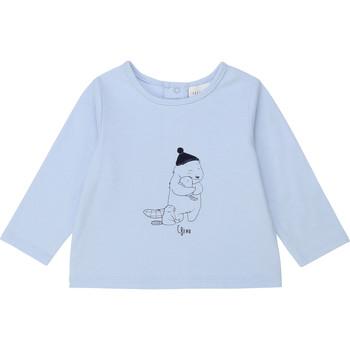 衣服 男孩 长袖T恤 Carrément Beau Y95249 蓝色