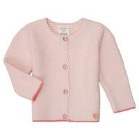 衣服 女孩 羊毛开衫 Carrément Beau Y95225 玫瑰色