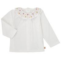 衣服 女孩 长袖T恤 Carrément Beau Y95244 白色