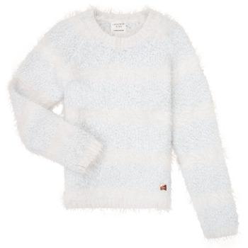 衣服 女孩 羊毛衫 Carrément Beau Y15348 蓝色