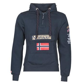 衣服 男士 卫衣 Geographical Norway GYMCLASS 海蓝色