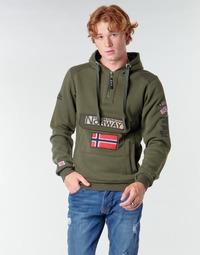 衣服 男士 卫衣 Geographical Norway GYMCLASS 卡其色