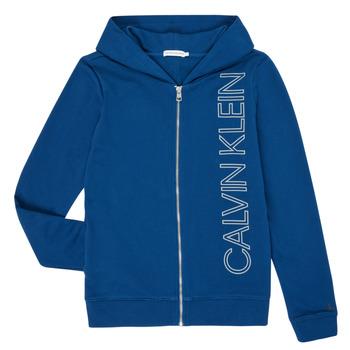 衣服 男孩 卫衣 Calvin Klein Jeans IB0IB00668-C5G 蓝色