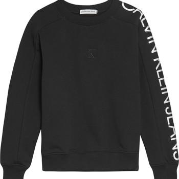 衣服 女孩 卫衣 Calvin Klein Jeans IG0IG00691-BEH 黑色