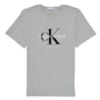 衣服 儿童 短袖体恤 Calvin Klein Jeans MONOGRAM 灰色
