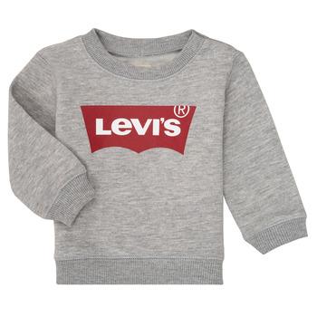 衣服 男孩 卫衣 Levi's 李维斯 BATWING CREW 灰色