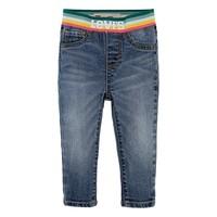 衣服 女孩 牛仔铅笔裤 Levi's 李维斯 PULLON RAINBOW SKINNY JEAN 蓝色