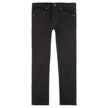 衣服 男孩 牛仔铅笔裤 Levi's 李维斯 510 SKINNY FIT JEAN 黑色