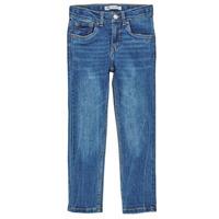 衣服 男孩 牛仔铅笔裤 Levi's 李维斯 510 SKINNY FIT COZY JEAN 蓝色