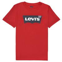 衣服 男孩 短袖体恤 Levi's 李维斯 BATWING TEE 红色