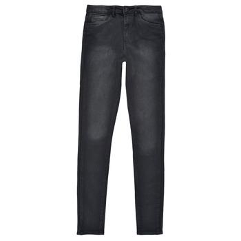 衣服 女孩 牛仔铅笔裤 Levi's 李维斯 720 HIGH RISE SUPER SKINNY 黑色