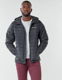 衣服 男士 羽绒服 Columbia 哥伦比亚 POWDER LITE HOODED JACKET 黑色
