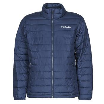 衣服 男士 羽绒服 Columbia 哥伦比亚 POWDER LITE JACKET 蓝色