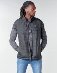 衣服 男士 羽绒服 Columbia 哥伦比亚 POWDER LITE VEST 黑色
