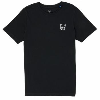 衣服 男孩 短袖体恤 Jack & Jones 杰克琼斯 JJAARHUS TEE 黑色
