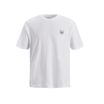 衣服 男孩 短袖体恤 Jack & Jones 杰克琼斯 JJAARHUS TEE 白色