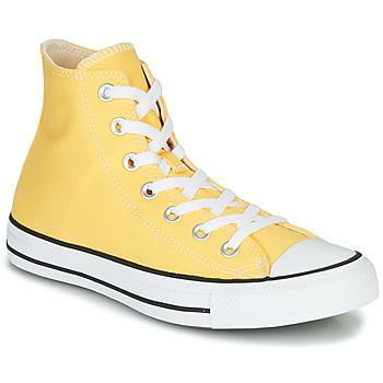 鞋子 女士 高帮鞋 Converse 匡威 CHUCK TAYLOR ALL STAR - SEASONAL COLOR 黄色