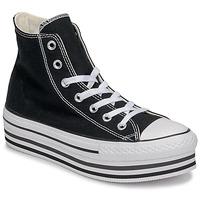 鞋子 女士 高帮鞋 Converse 匡威 CHUCK TAYLOR ALL STAR PLATFORM EVA LAYER CANVAS HI 黑色