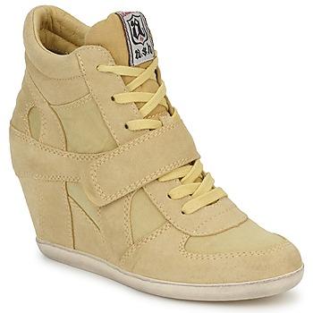 鞋子 女士 高帮鞋 Ash 艾熙 BOWIE 黄色 / 粉蓝色