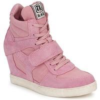 鞋子 女士 高帮鞋 Ash 艾熙 COOL 玫瑰色