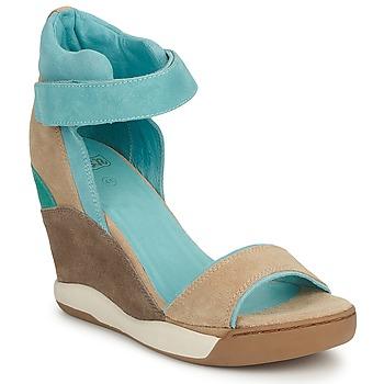 鞋子 女士 凉鞋 Ash 艾熙 HELOISE 棕色 / 蓝色