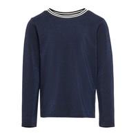 衣服 女孩 长袖T恤 Only KONATHEA 海蓝色