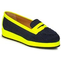 鞋子 女士 皮便鞋 MySuelly VALENTINE 黑色 / 黄色