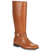鞋子 女士 都市靴 Lauren Ralph Lauren BAYLEE 棕色
