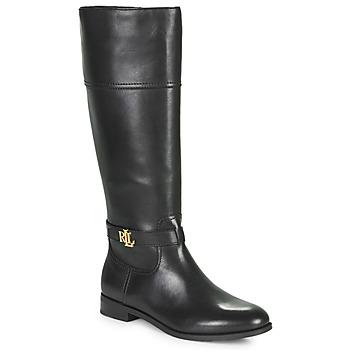 鞋子 女士 都市靴 Lauren Ralph Lauren BAYLEE 黑色