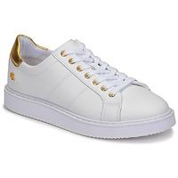 鞋子 女士 球鞋基本款 Lauren Ralph Lauren ANGELINE II 白色 / 金色