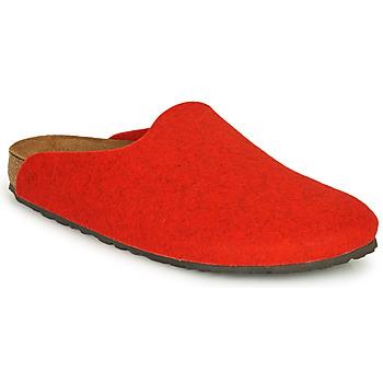 鞋子 女士 洞洞鞋/圆头拖鞋 Birkenstock 勃肯 AMSTERDAM 红色