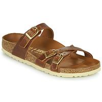 鞋子 女士 休闲凉拖/沙滩鞋 Birkenstock 勃肯 FRANCA 棕色