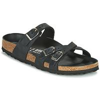 鞋子 女士 休闲凉拖/沙滩鞋 Birkenstock 勃肯 FRANCA 黑色