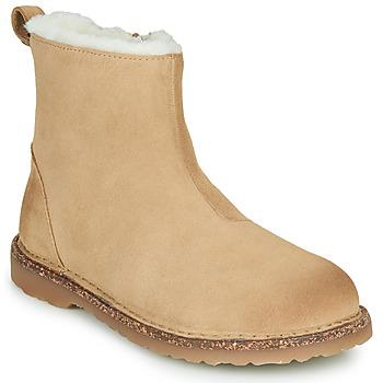 鞋子 女士 短筒靴 Birkenstock 勃肯 MELROSE SHEARLING 米色