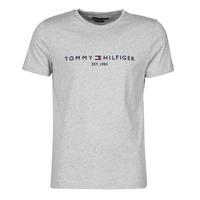 衣服 男士 短袖体恤 Tommy Hilfiger TOMMY LOGO TEE 灰色